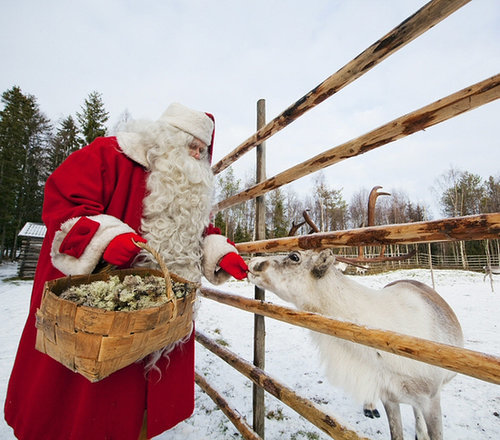 "Visit the ""Real"" Santa Claus in Finland"