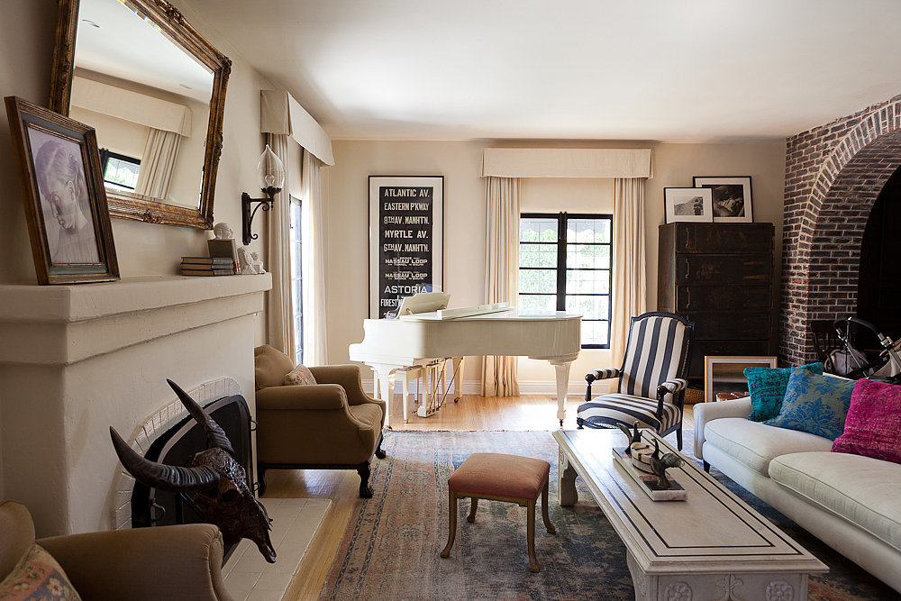House Tour: Estee Stanley's European-Inspired LA Home