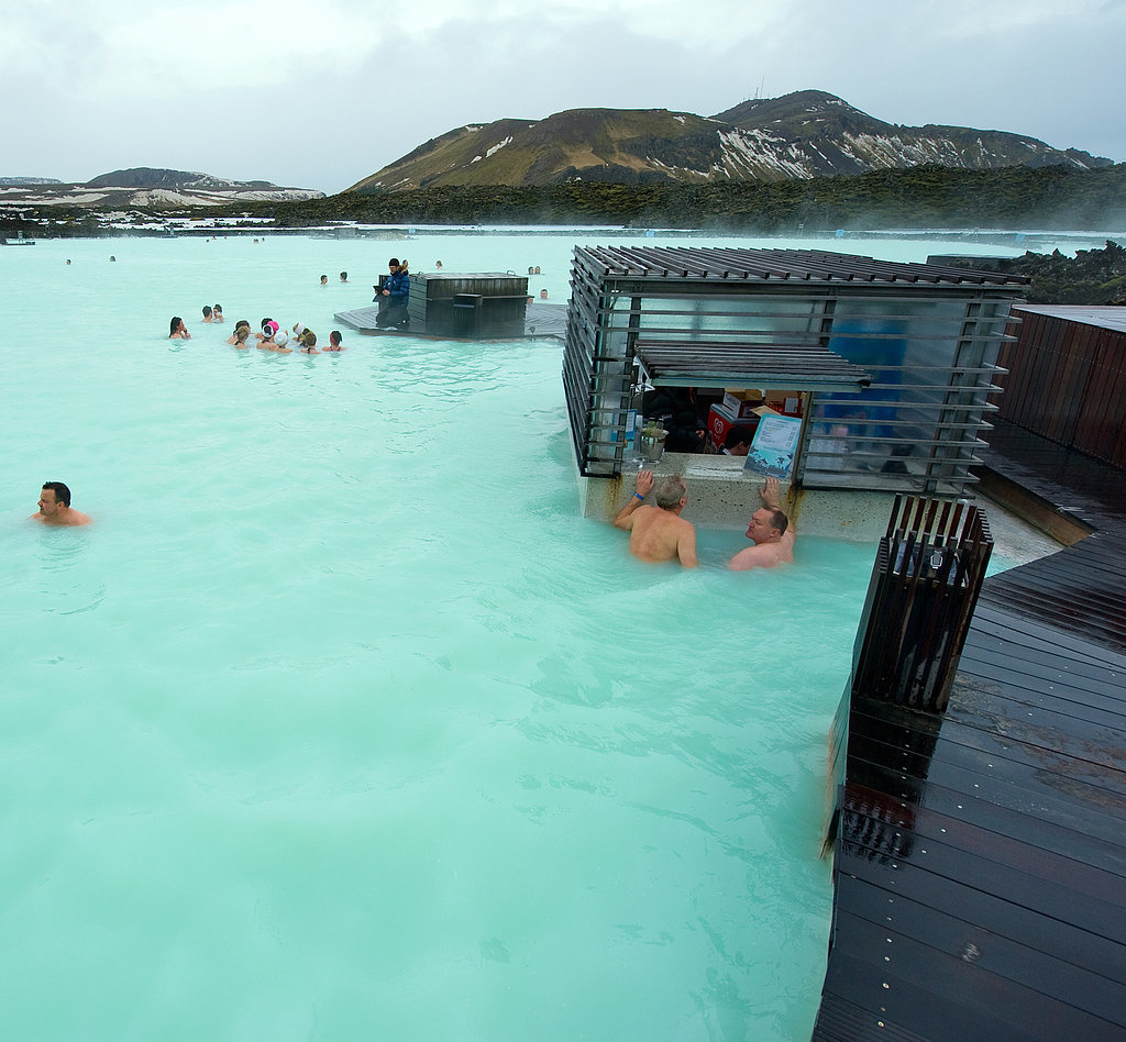 Soak in the Hot Springs in Iceland