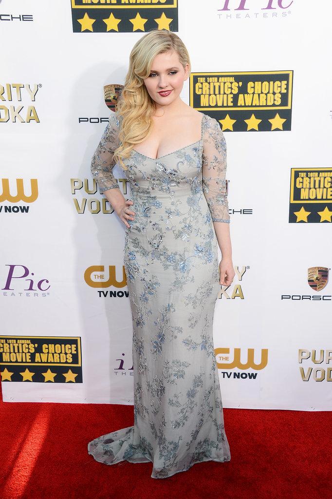 Abigail Breslin at the Critics' Choice Awards 2014