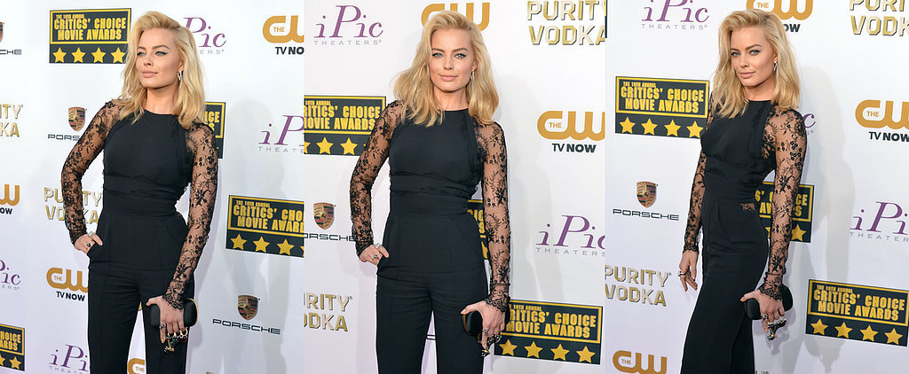 Did Margot Robbie Top Her Globes Gown With a Jumpsuit?