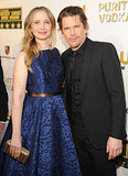 Before Midnight stars Julie Delpy and Ethan Hawke posed on the red carpet together.