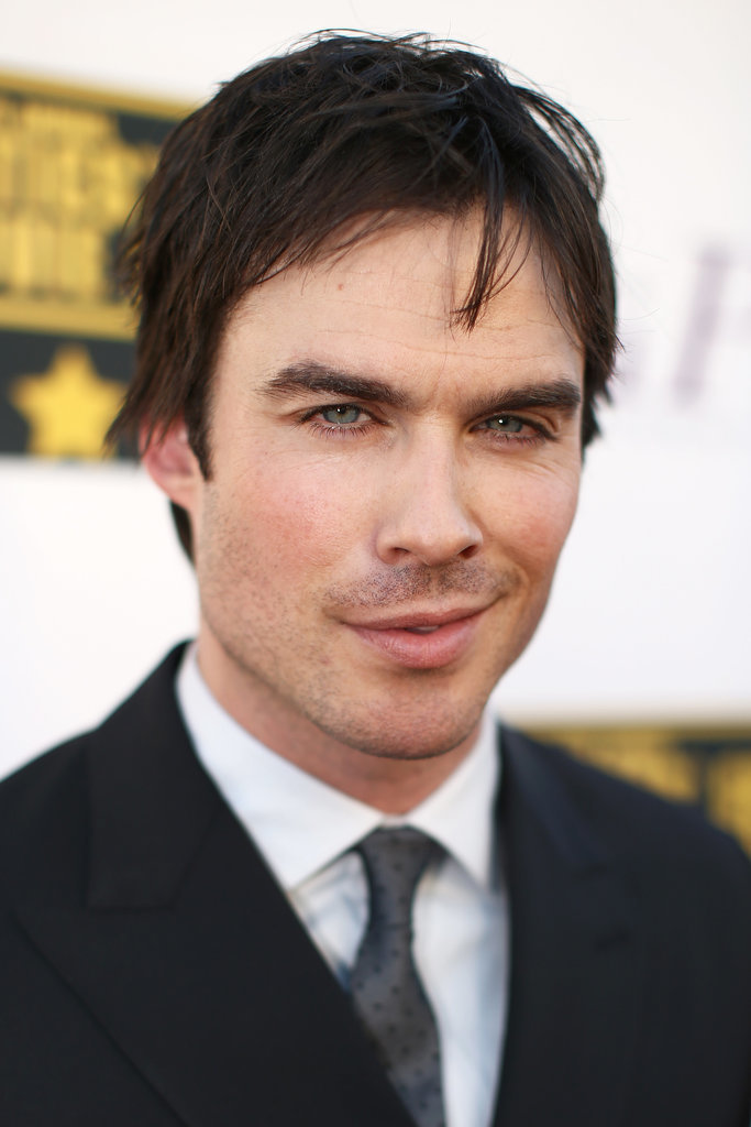 Ian Somerhalder Brings Sexy to the Critics' Choice Stage