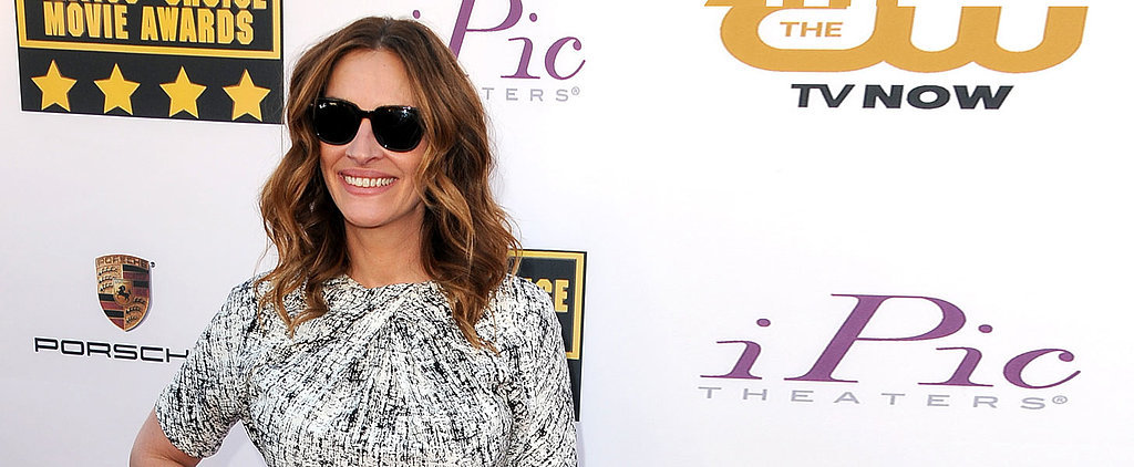 Can Julia Roberts Pull Off Sunglasses With Her Gown?