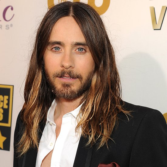 Jared Leto's Hair at the 2014 Critics Choice Awards