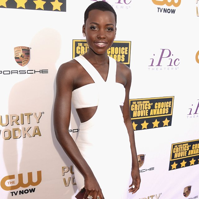 Lupita Nyong'o's Dress at Critics' Choice Awards 2014