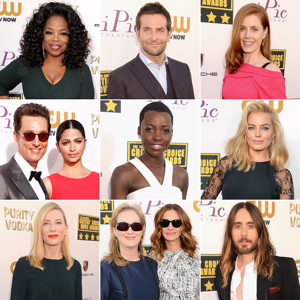 It's Another A-List Affair on the Critics' Choice Awards Red Carpet