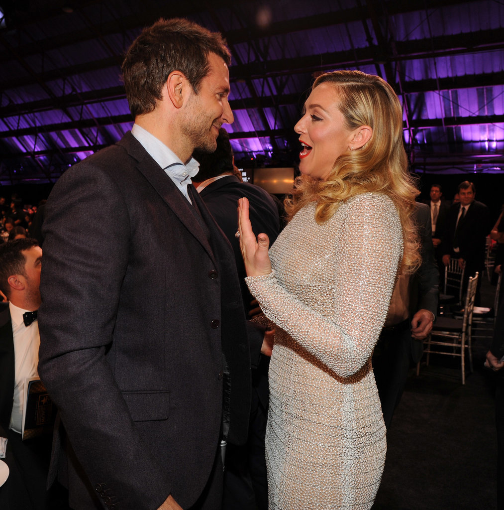 Bradley Cooper chatted with Elisabeth Röhm.