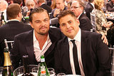 Leonardo DiCaprio and Jonah Hill posed for another cute photo.