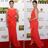Camila Alves's Dress at Critics' Choice Awards 2014