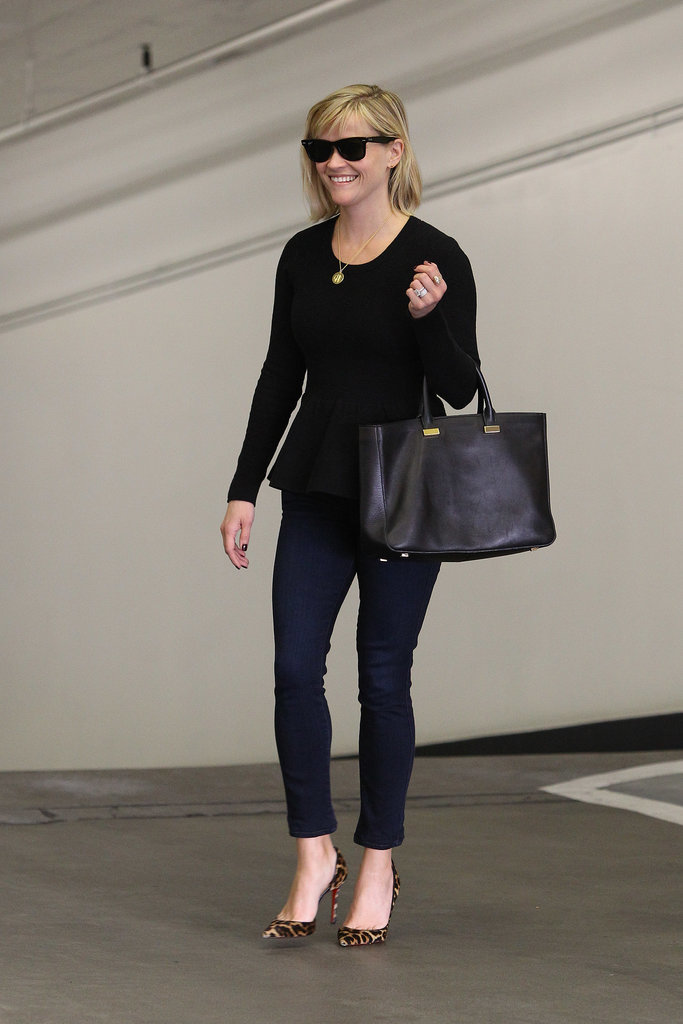 Reese Witherspoon looked cute and chic while running errands in LA on Wednesday.