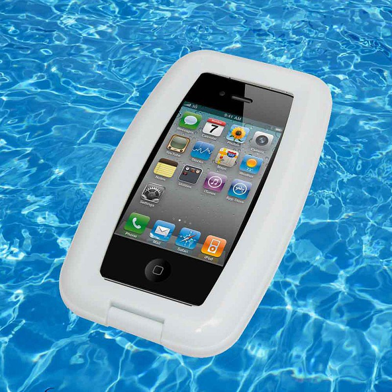 Yes, floating your phone on water in this aqua case ($33) is definitely a good idea.