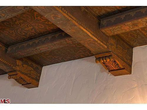 Hand-Carved Ceilings