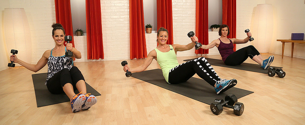 Rev Up Your Workout With Weights: 10-Minute Total-Body Toner