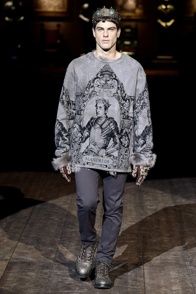 Dolce & Gabbana Men's Fall 2014