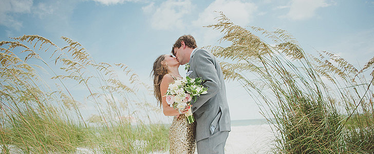 A Dazzling Destination Beach Wedding