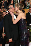 Jennifer kissed David O. Russell.