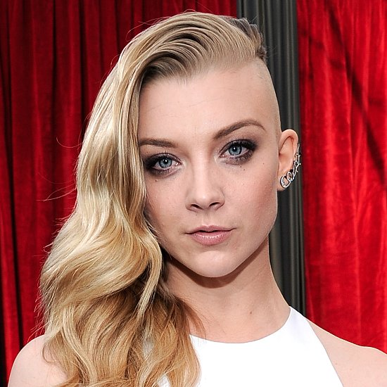 Natalie Dormer Shaved Half Her Head at the 2014 SAG Awards