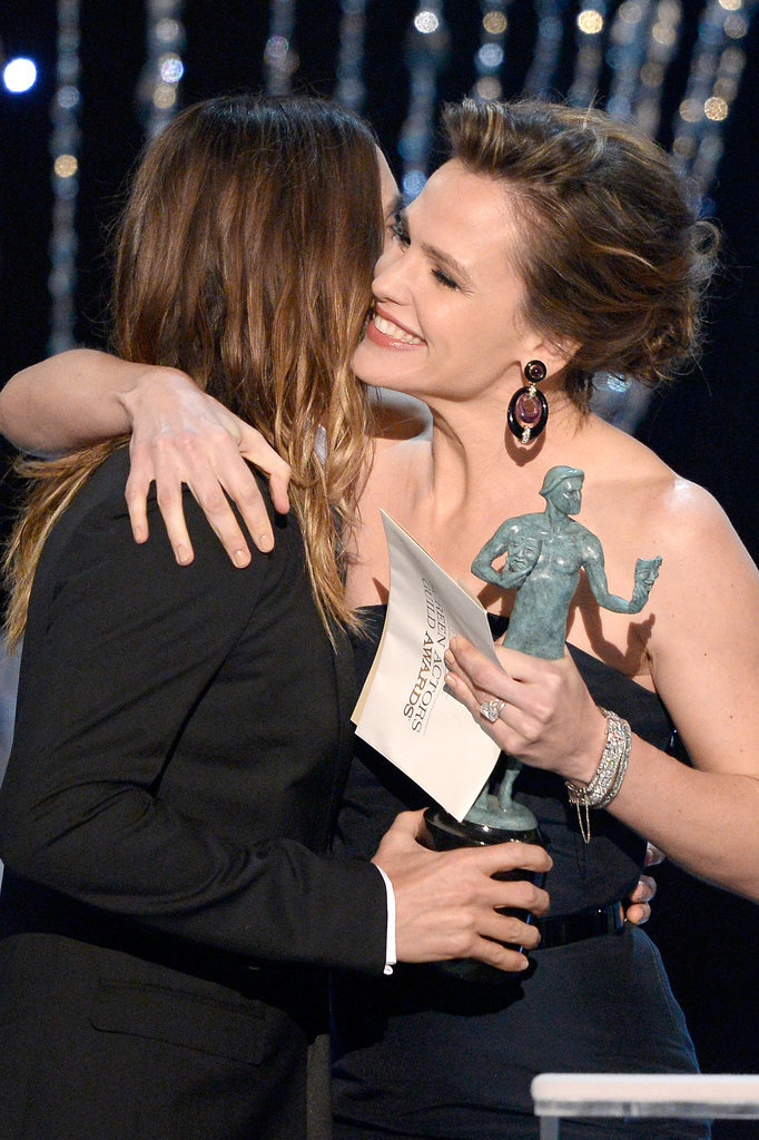 Ben Affleck and Jennifer Garner Show PDA at the SAGs
