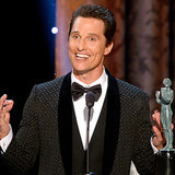 Full Video Of Matthew McConaughey's 2014 SAG Awards Speech