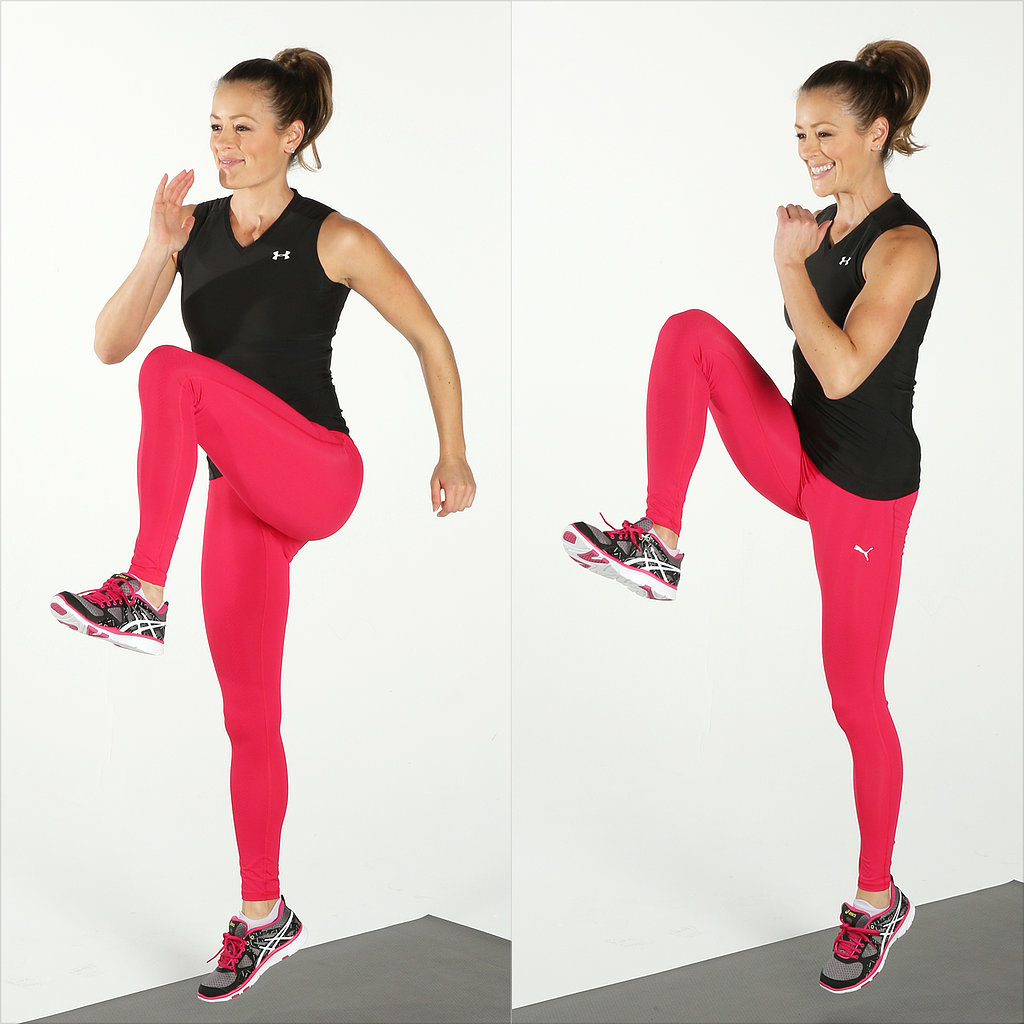 Plyometrics: High Knee Skips