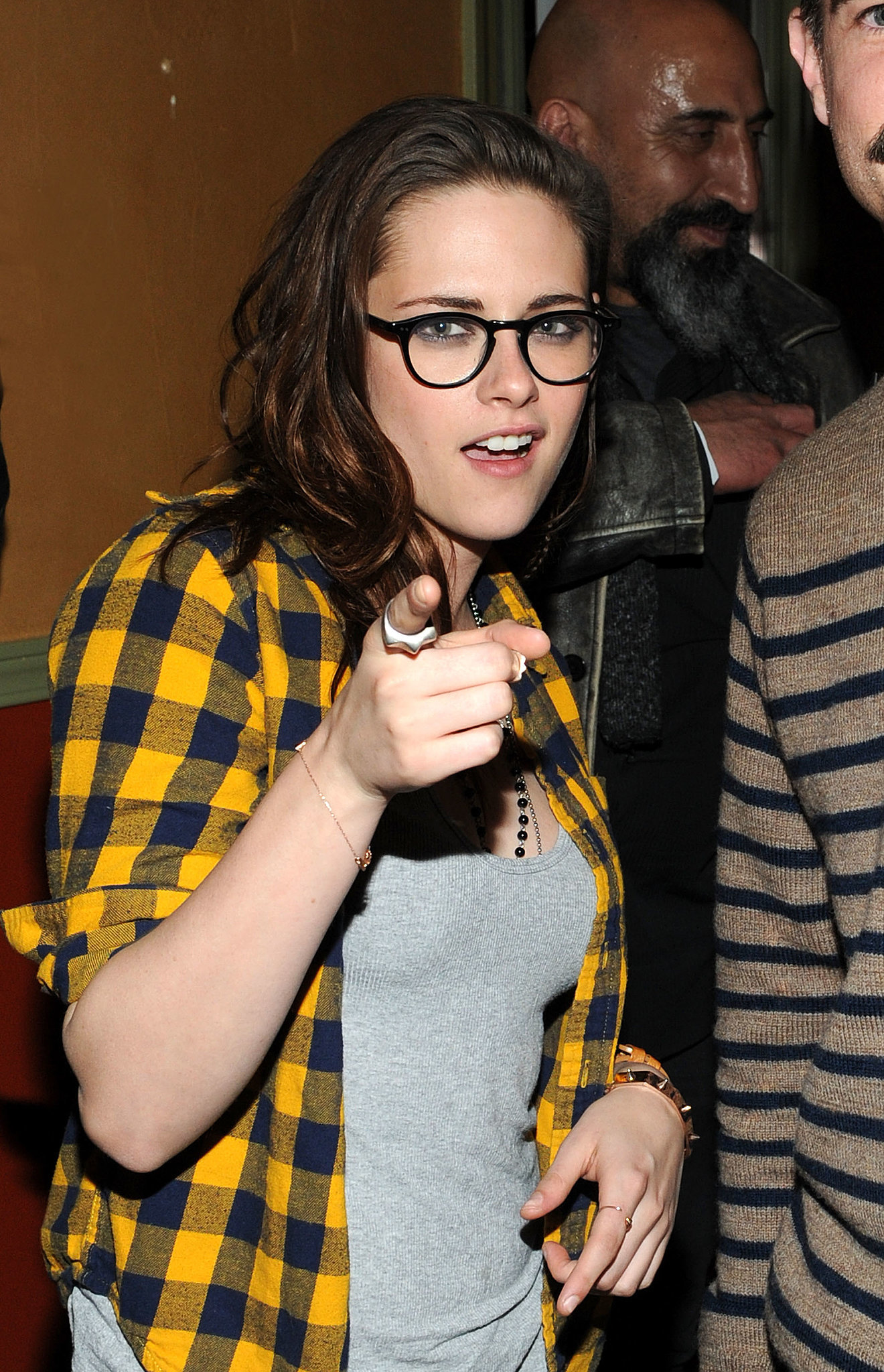 Download this Kristen Stewart Pointed The Camera Chefdance Friday picture