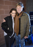 Kristen Stewart met up with Robert Redford at the Camp X-Ray premiere on Friday.