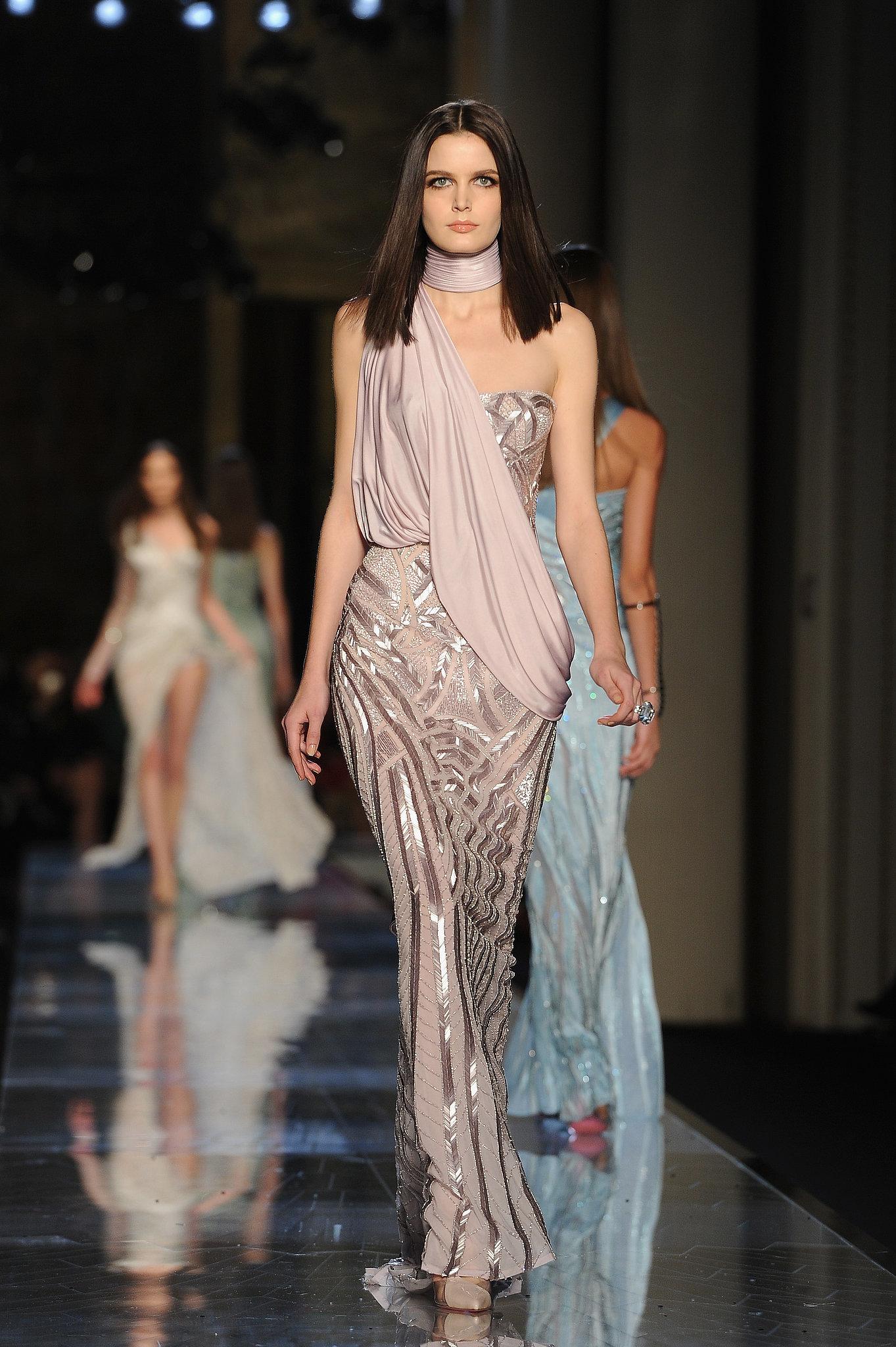 Atelier versace haute couture spring 2014 donatella has for The haute couture