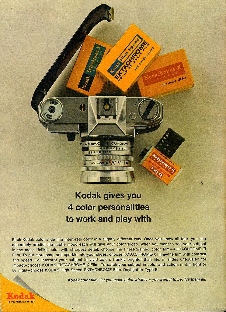 Nice composition there, Kodak.