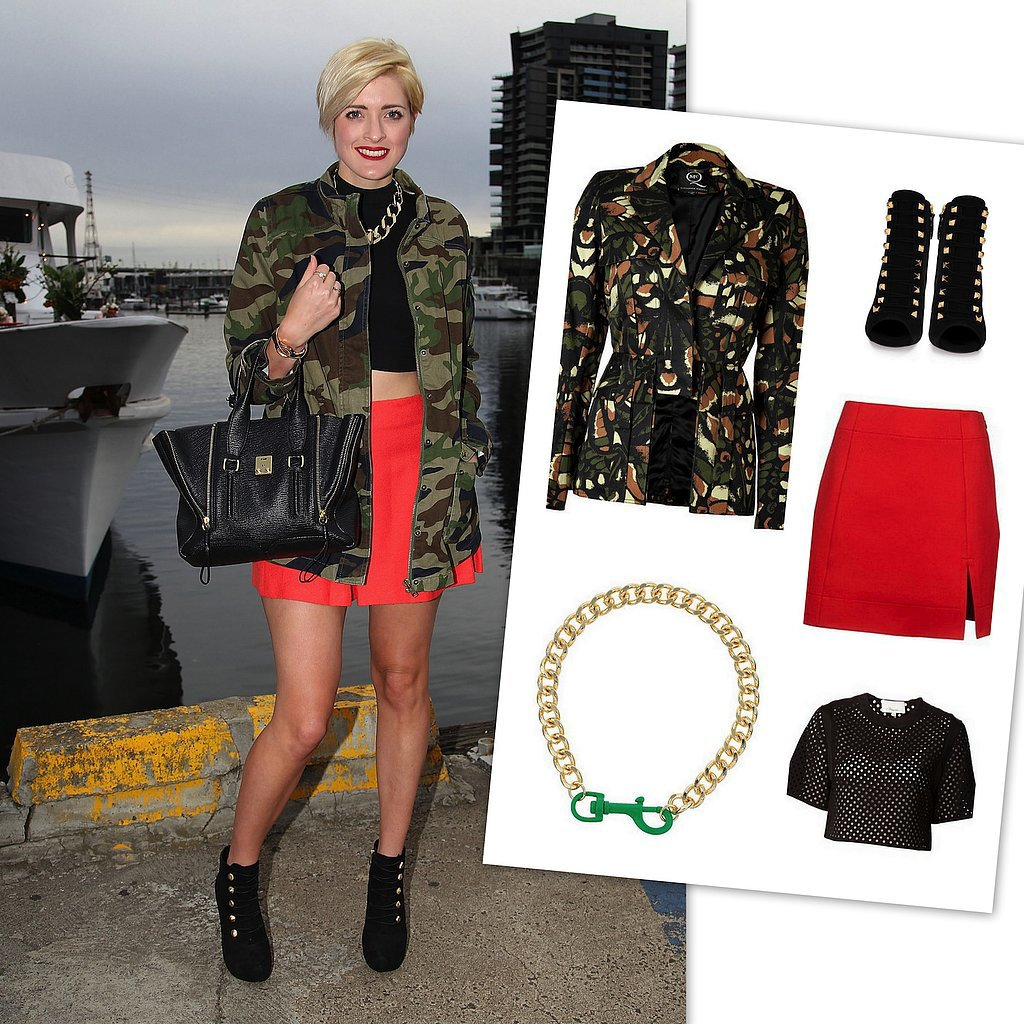 Camo is not just for the boys. Steal these camo street style looks!