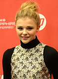 Get Chloë Moretz's Dramatic Bumped-Up Bun Now