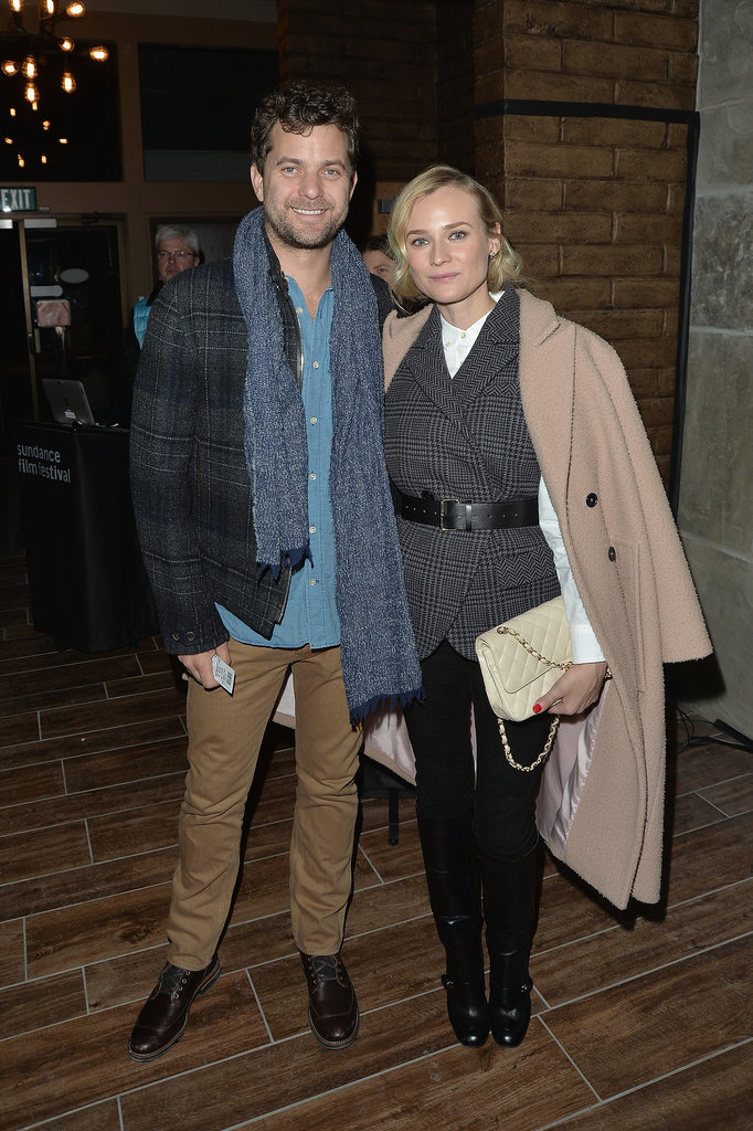 Diane Kruger and her boyfriend, Joshua Jackson, looked gorgeous on Saturday.