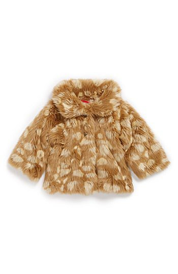 "Ruby & Bloom ""Mia"" Faux-Fur Coat"