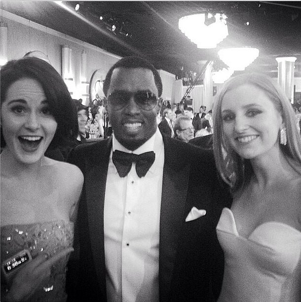When Downton met Diddy. Source: Instagram user theladydockers