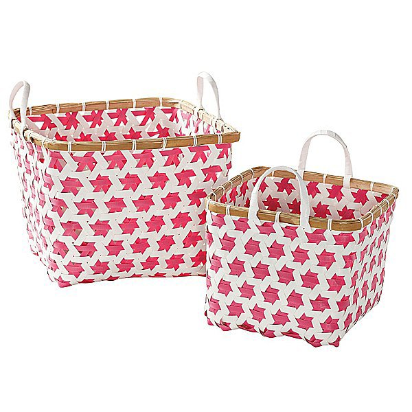 Casual Storage From Serena & Lily's Mercado Baskets