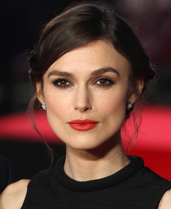 Keira Knightley in Red Lipstick at Jack Ryan: Shadow Recruit