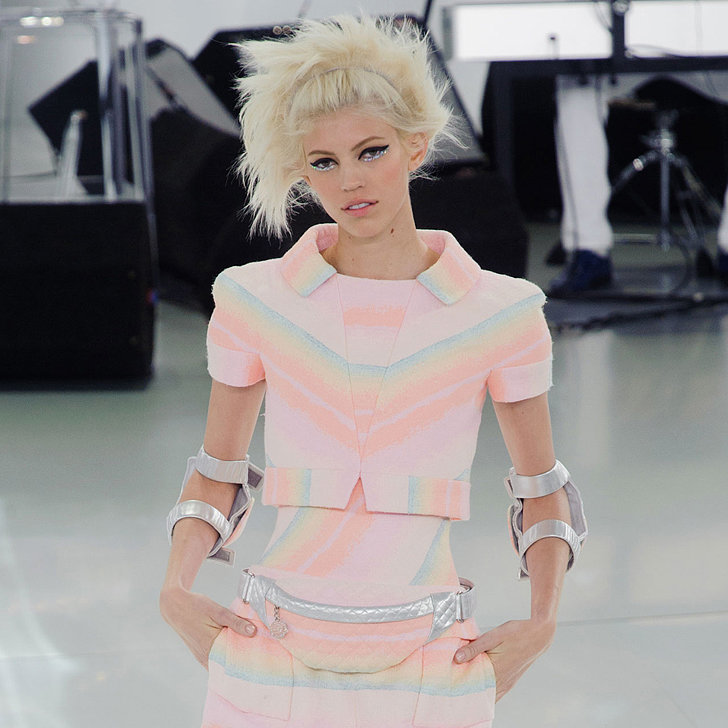 Karl Lagerfeld Gets Sporty at Chanel Haute Couture