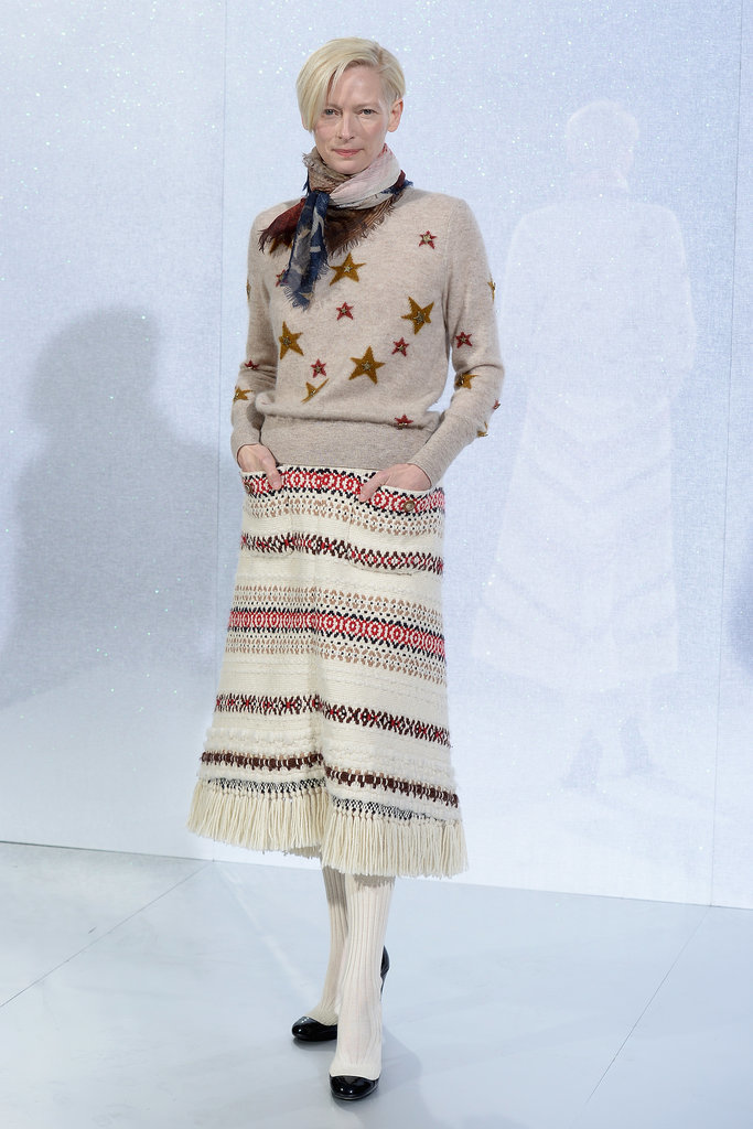 Tilda Swinton at Chanel