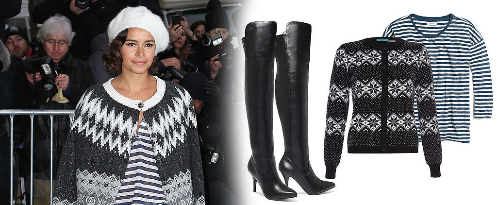 Did Miroslava Duma Just Make Fair Isle Sweaters Cool Again?