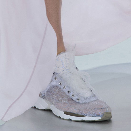 Karl Lagerfeld Makes Trainers Chic, Our Feet Rejoice