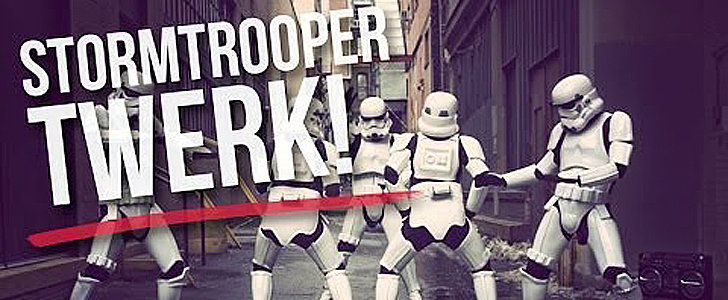 Stop What You're Doing and Watch Stormtroopers Twerk