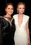 Jennifer Lawrence and Taylor Swift