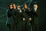 The boys of *NSYNC laid down some sweet harmonies on stage in 2003 (those were the days).