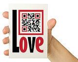 QR Code Valentine