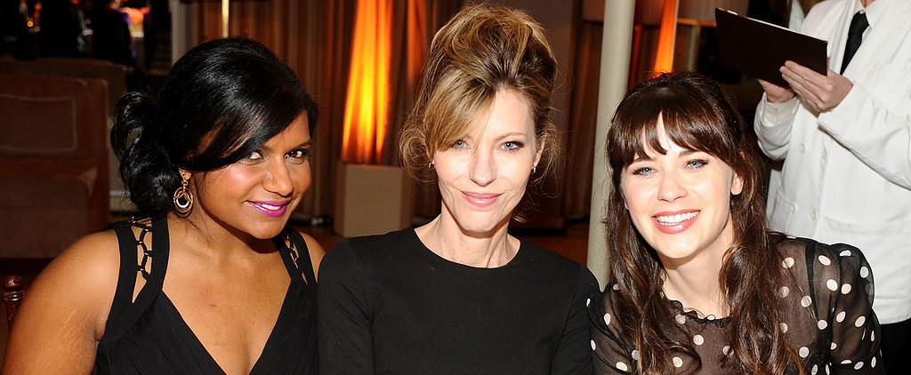Fox-y Ladies Mindy and Zooey Celebrate Women in TV With Elle