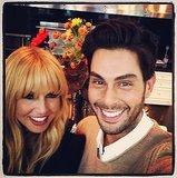 Rachel Zoe and Joey Maalouf