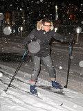 Andy Samberg Skis the Streets of NYC