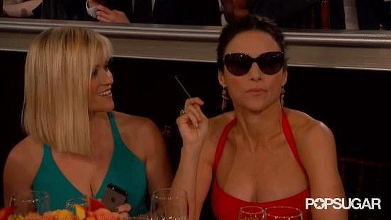 Julia Louis-Dreyfus Rejects Reese Witherspoon at the Globes