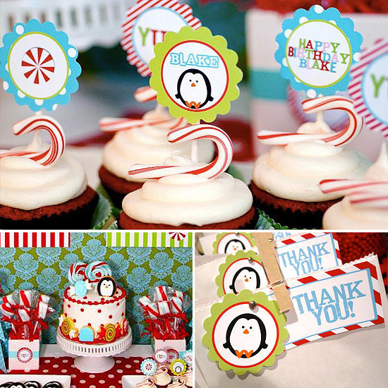 A Winter Candy Land First Birthday
