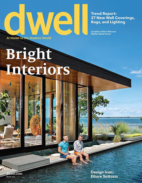 See the entire vacation pad in the March issue of Dwell Magazine, expected to hit newsstands Feb. 4!